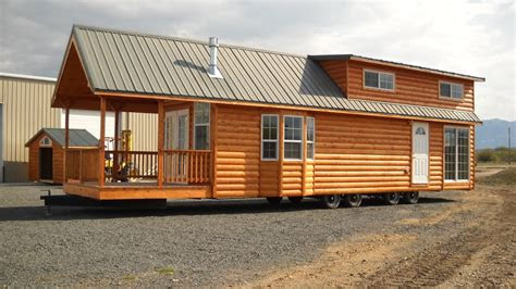 gromer park model tiny home   trailer