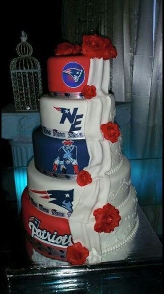 New England Patriots wedding cake   Future   Football