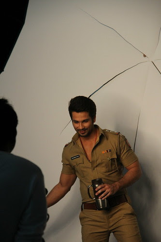 Mr Shahid Kapoor An Officer And A Gentleman by firoze shakir photographerno1