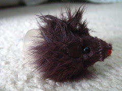 Skinned mouse toy