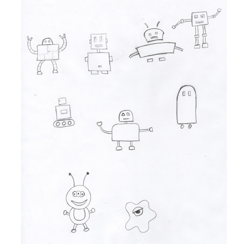 Turning Your Sketches Into Vector Art With Robots Bigstock Blog Small Business And Design Tips