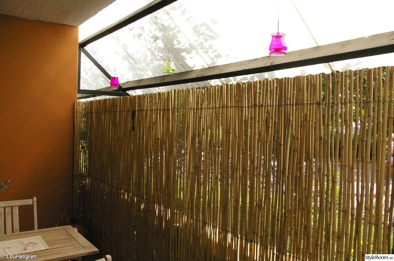 Bra Kappor och Jackor: Insynsskydd bambu IQ-22