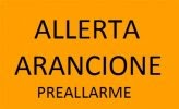 Avviso alla cittadinanza per rischio meteo-idrogeologico e idraulico arancione (preallerta)