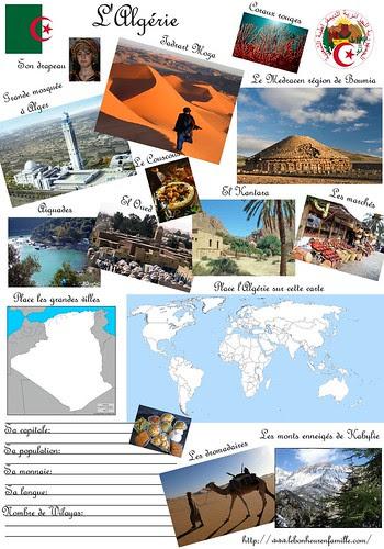 le bonheur enfamille fiche pays algérie
