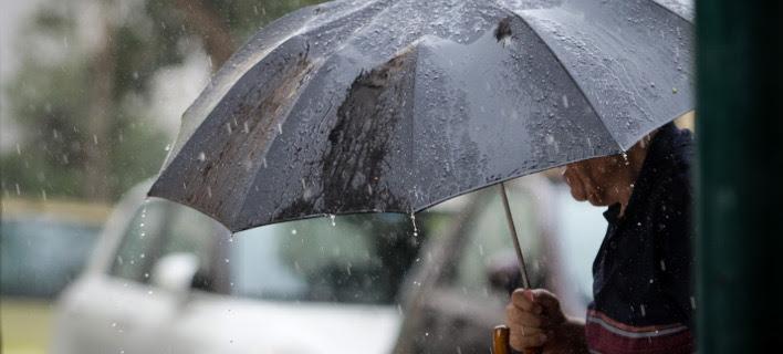 Βροχές και καταιγίδες/Φωτογραφία: Eurokinissi
