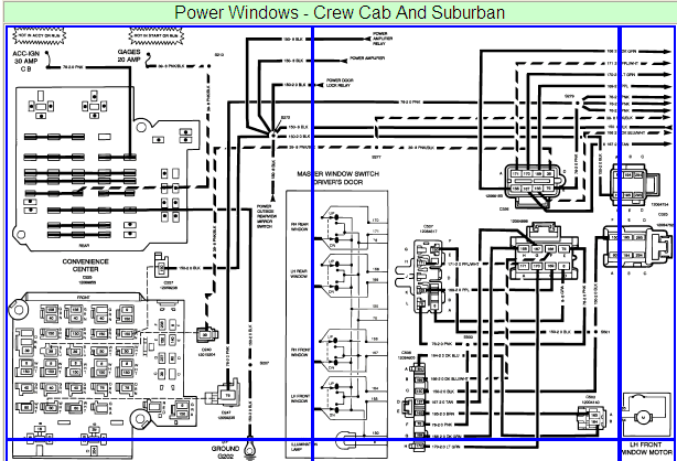 33 Power Window Wiring Diagram Chevy