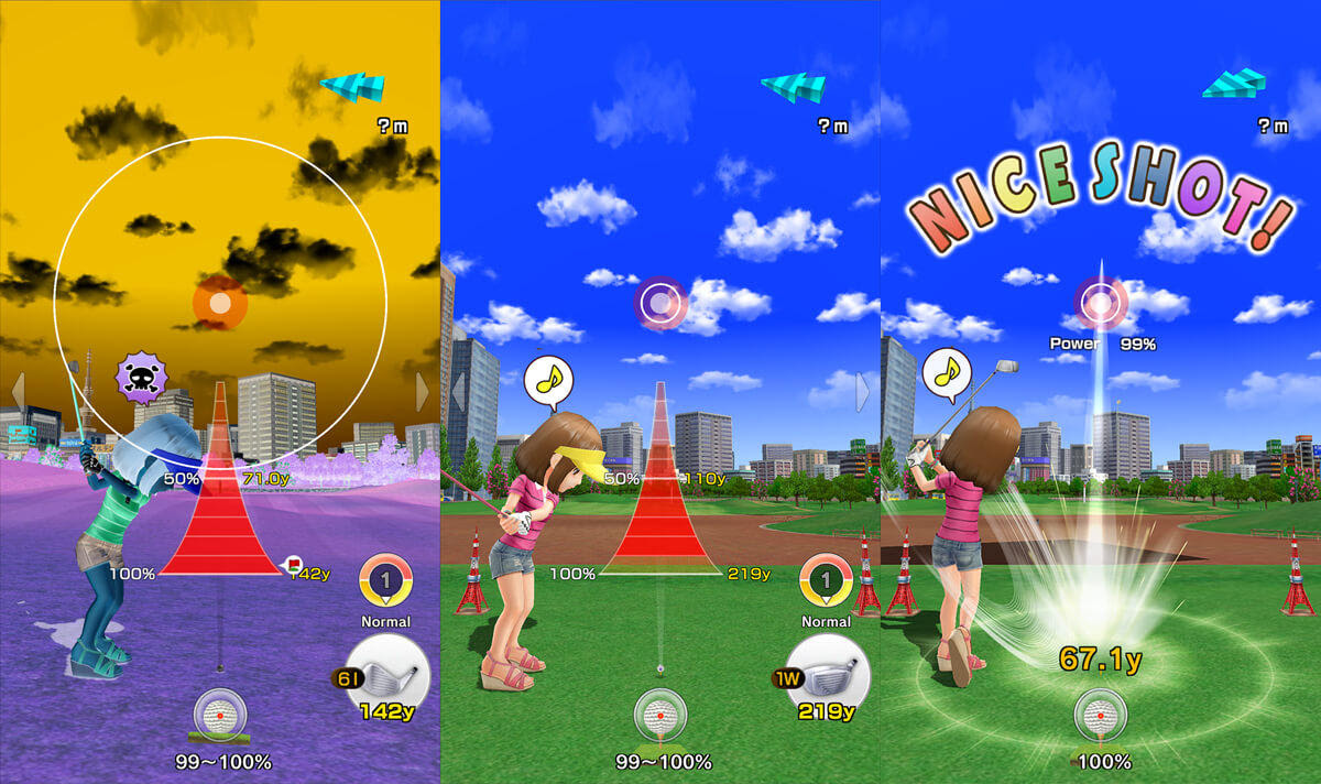 See how Everybody's Golf is shaping up for mobile screenshot