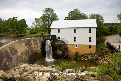 Murray's Mill, 1913, Catawba County, North Carolina