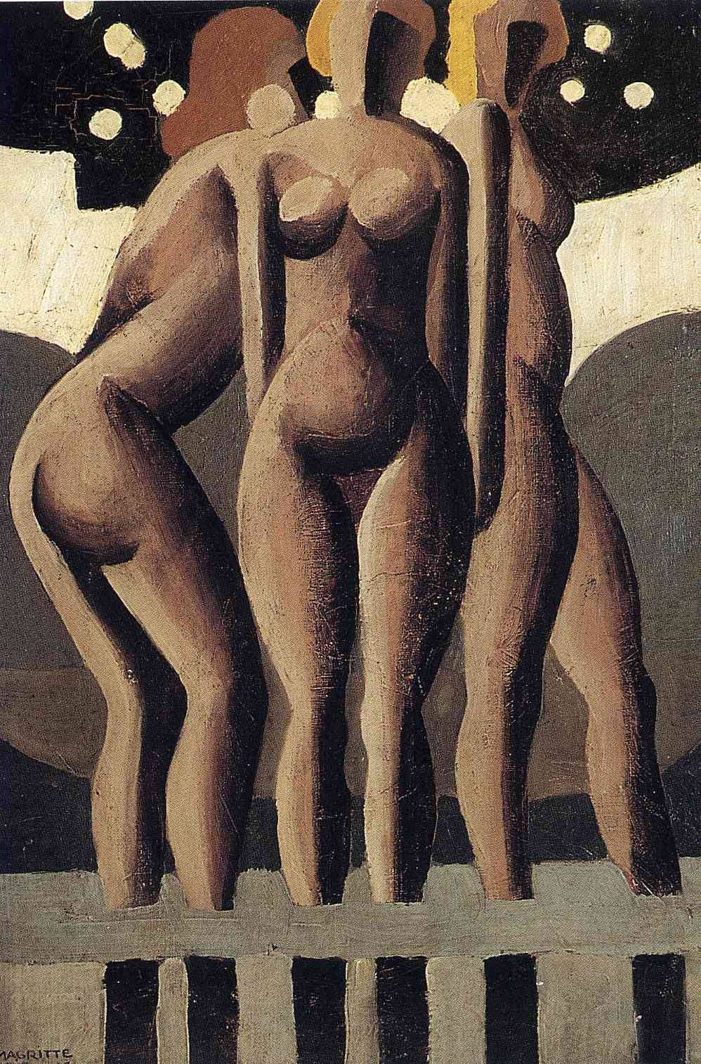 Bathers, 1921Rene Magritte