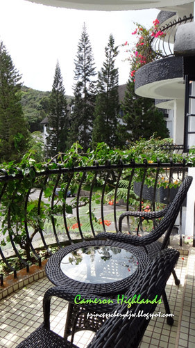 Cameron Highlands Strawberry Park balcony