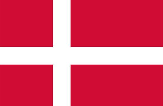 Resultado de imagen de bandera de dinamarca