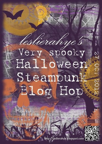 steampunk halloween blog hop
