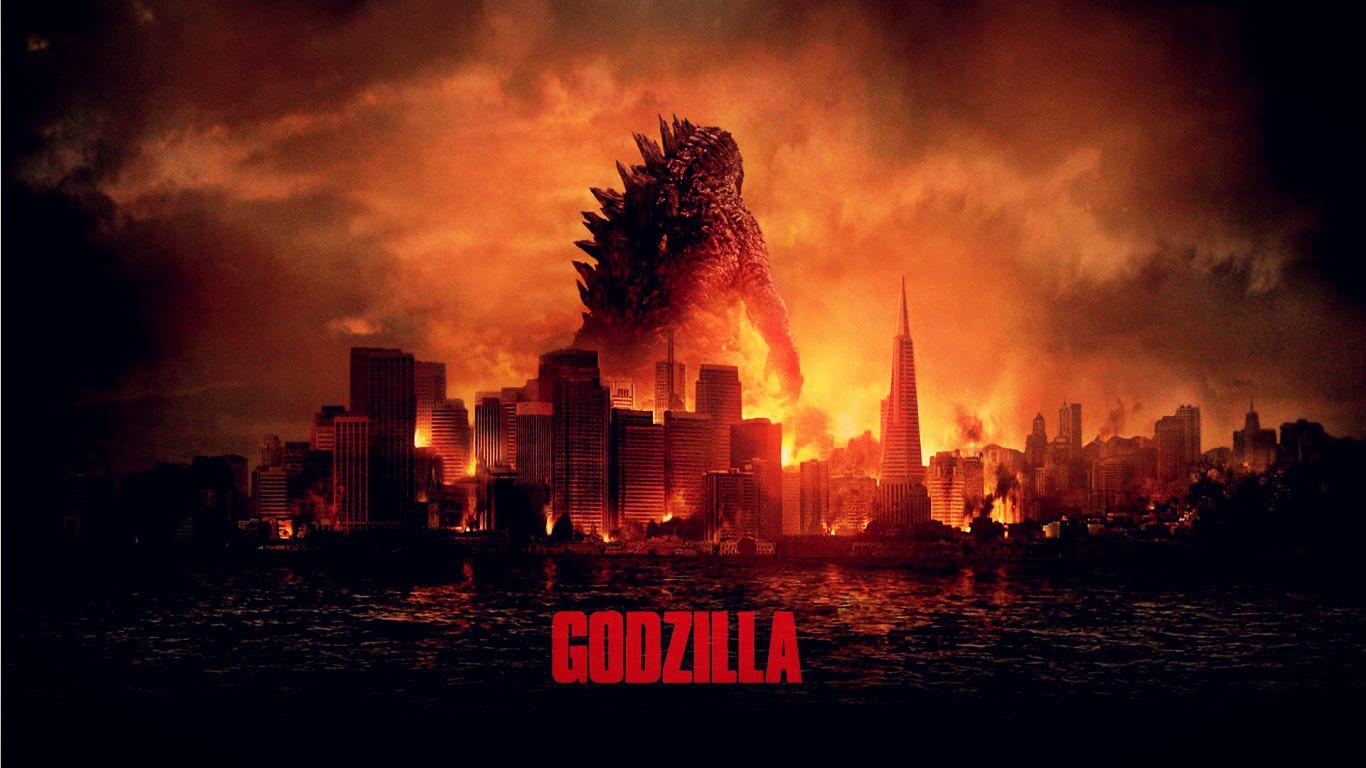 Resultado de imagem para Godzilla 2014