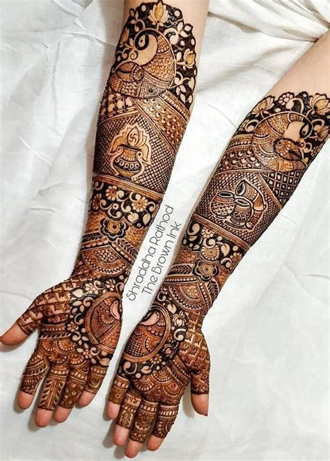 33 Newest Bridal Mehndi Designs For Hands & Feet