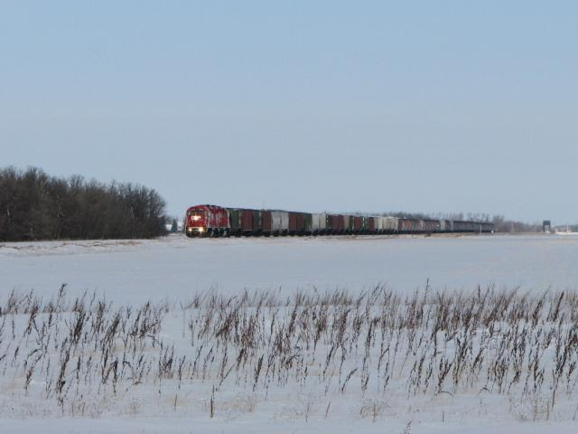 CP 3106 and 3116 on the Glenboro subdivision