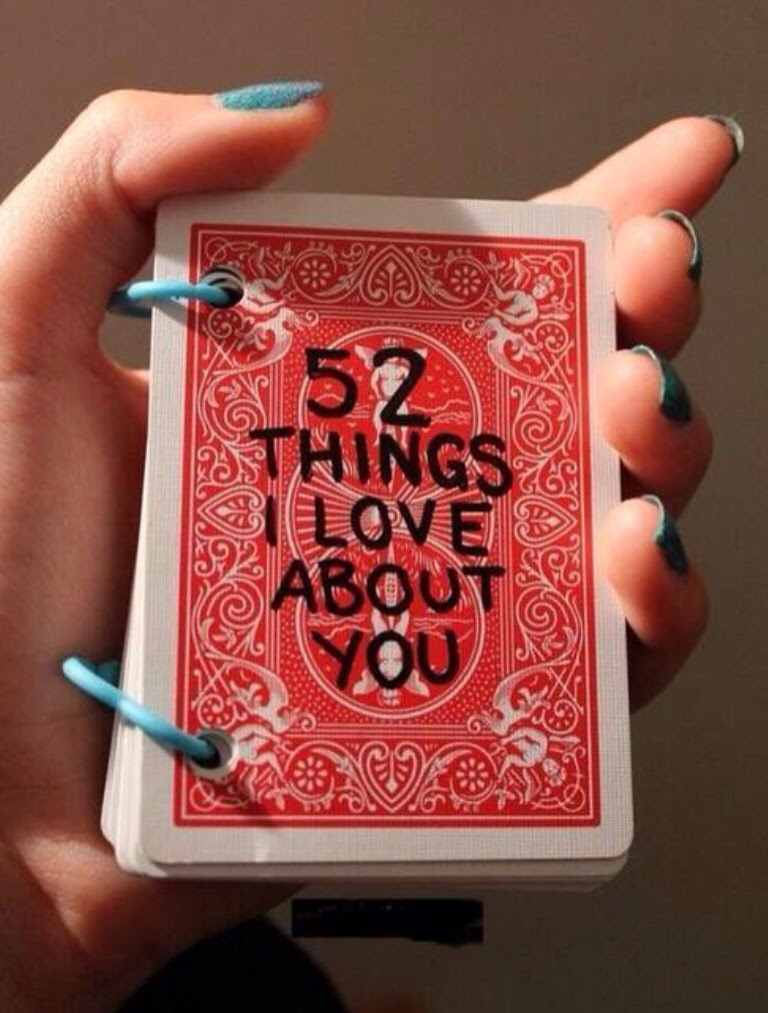 52 things i love about you list for boyfriend