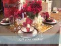 dining table decoration ideas christmas