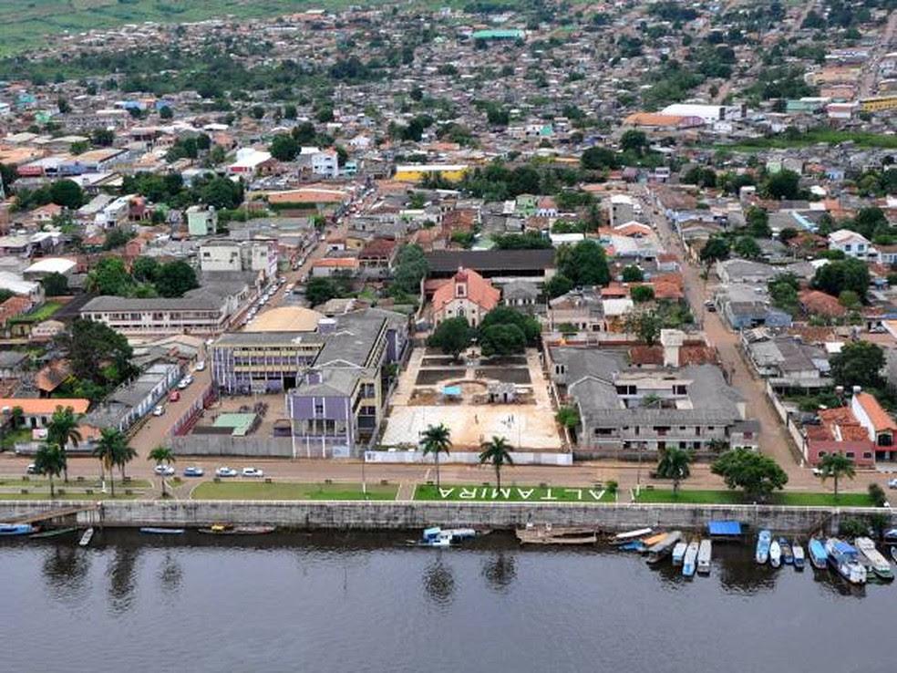 Cidade de Altamira lidera ranking das mais violentas do Brasil, segundo IPEA (Foto: Divulgação)