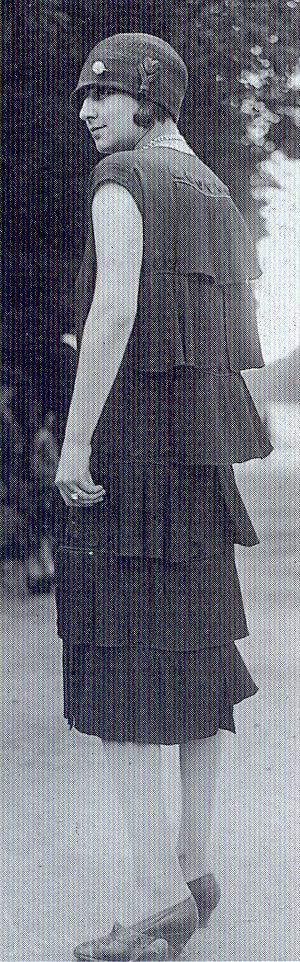 Phillippe & Gaston dress, 1920s