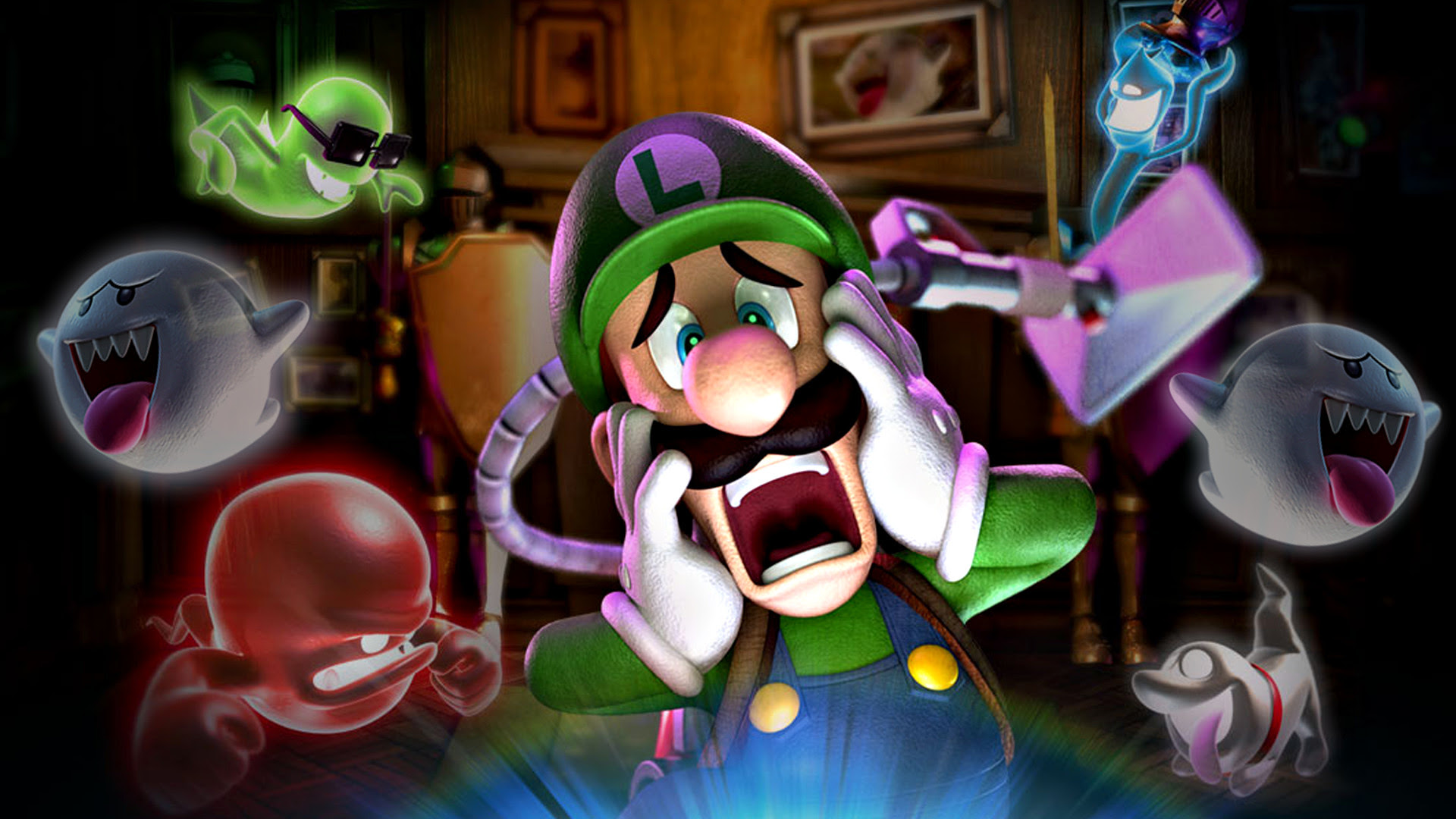 Luigis Mansion Wallpaper 64 Images