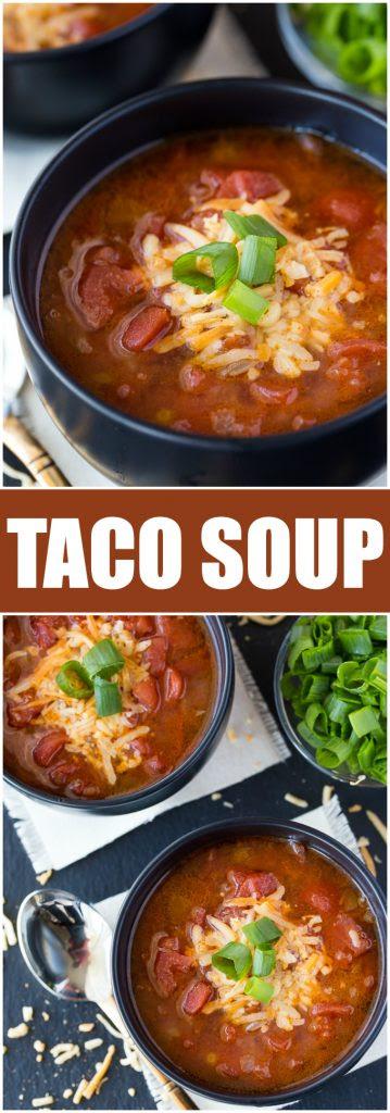 Simply Stacie Taco-Soup