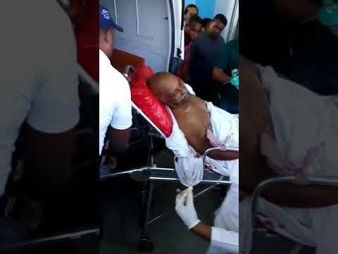 Ver video del Oficial retirado PN que se quito la vida  de un disparo en  su casa de Cabral