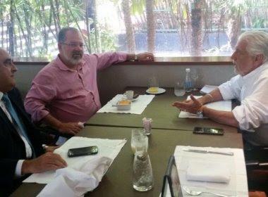 Em almoço com Wagner, Nilo minimiza pedidos de deputados por espaço para PSL