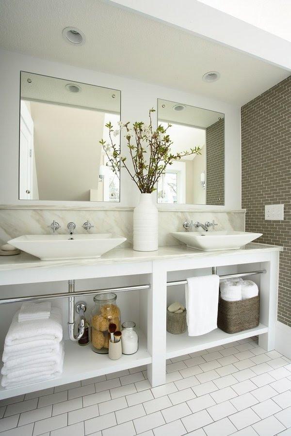 ... double sink vani