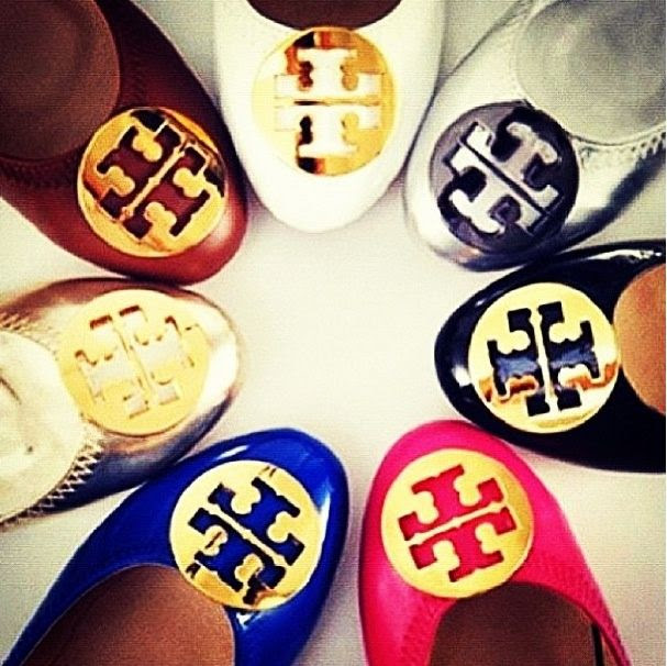 My Style  Tory Burch Reva ! $74 OMG!! Holy cow, I'm gonna love this site