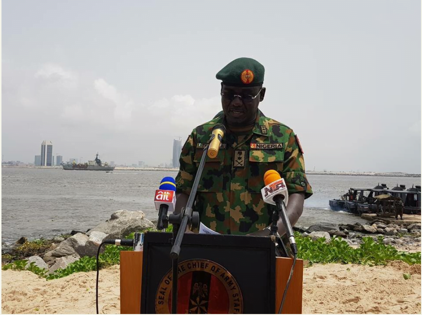 Nigerian Army launches Exercise Crocodile Smile in South West [PHOTOS]