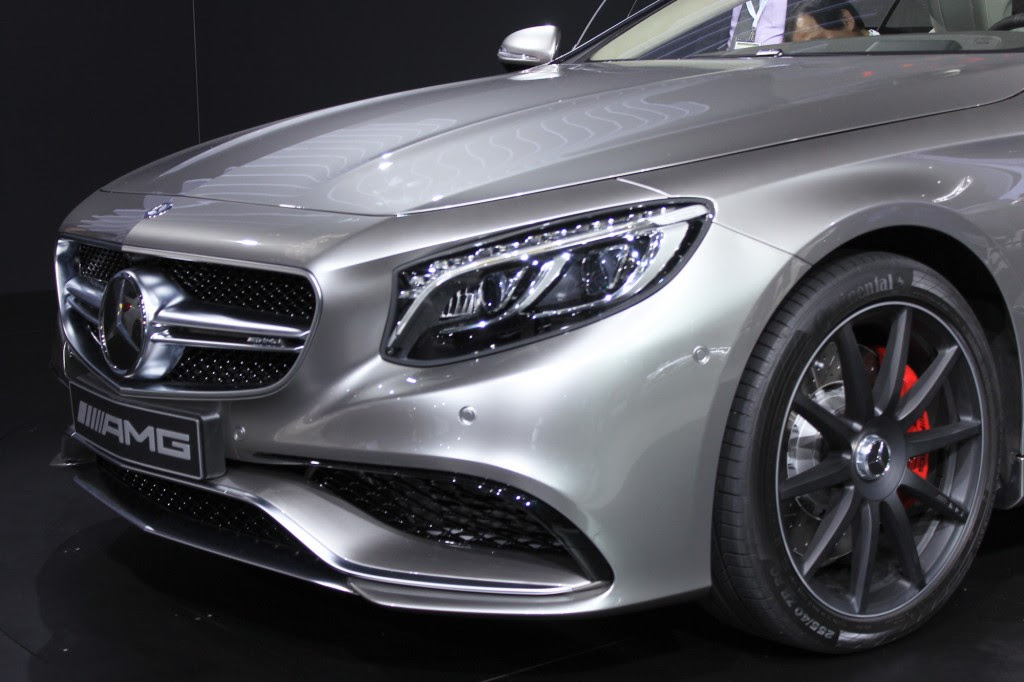 2015 Mercedes-Benz S63 AMG Coupe: 2014 New York Auto Show ...