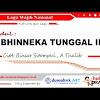 Lirik Lagu Bhinneka Tunggal Ika (Wajib Nasional) Ciptaan Binsar Sitompul