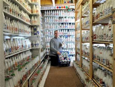 Largest collection of milk bottles: Paul Luke sets world