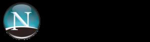 Netscape logo 2005–2007, still used in some po...