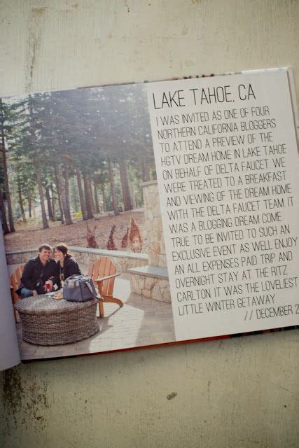 hgtv lake tahoe dream home blurb photo book diy ideas