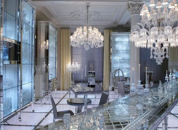 interiors baccarat moscow by philippe starck maison chaplin. Black Bedroom Furniture Sets. Home Design Ideas