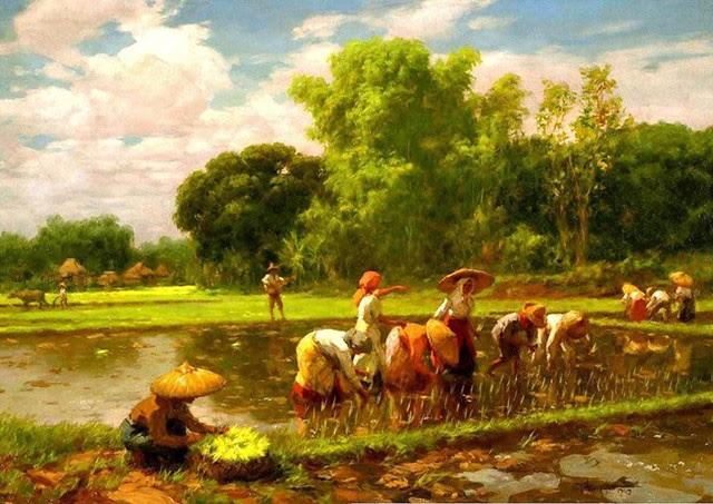 Fernando Amorsolo Rice Planting