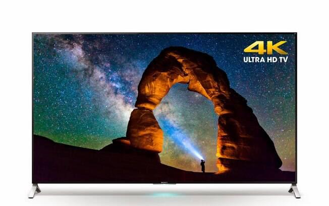 Sony adotou o sistema Android TV, do Google, em suas televisões. Foto: Divulgação