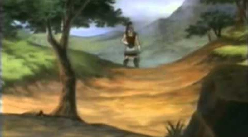 Desenho Bíblico - Davi e Golias Completo