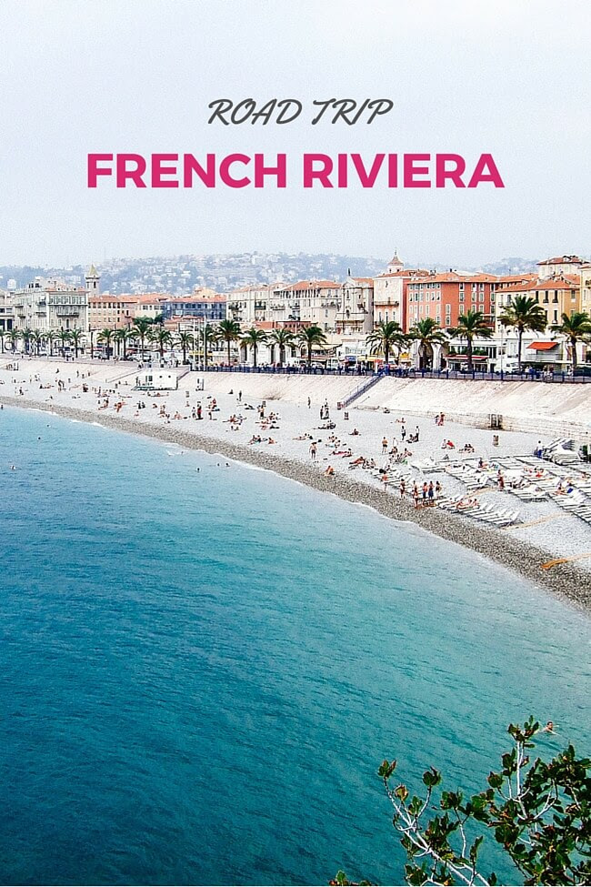 french riviera road trip itinerary
