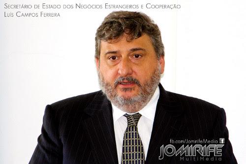 Campos Ferreira | Secretário de Estado dos Negócios Estrangeiros e da Cooperação