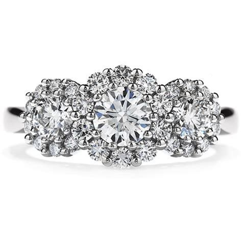 Beloved Three Stone Engagement Ring