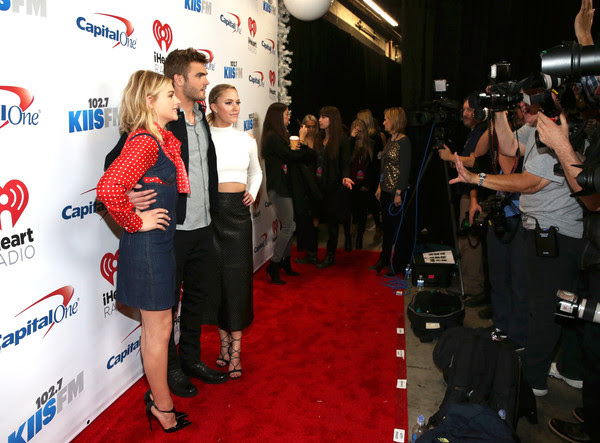 102.7 KIIS FM's Jingle Ball - Backstage