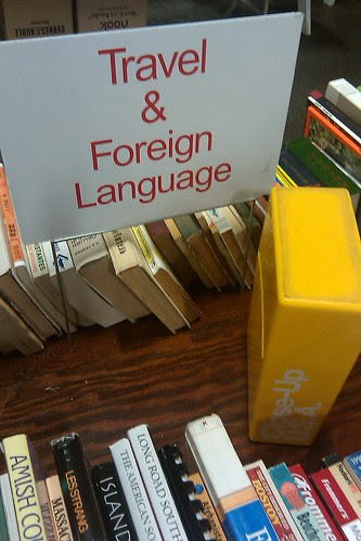 Book sale: Travel & foreign language