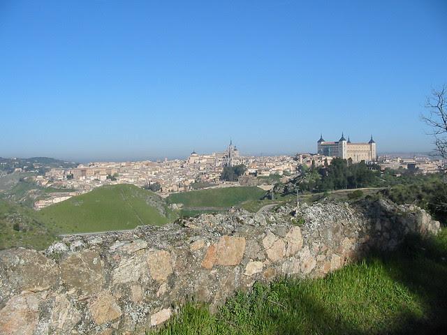 Toledo desde la Calzada Romana