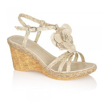 Lotus Hannah Wedge Sandals
