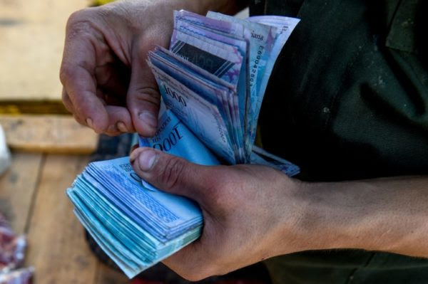 Venezuela's Bolivar Currency Worthless As Inflation Hits 1 Million Percent