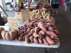 Vegetables at farmer's market