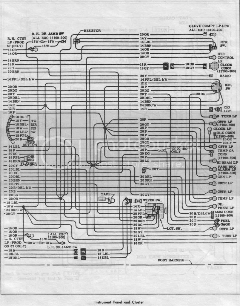 1970 chevelle wiring schematic image 10