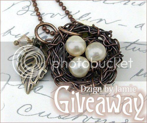 Bird Nest Necklace by Dzign by Jamie
